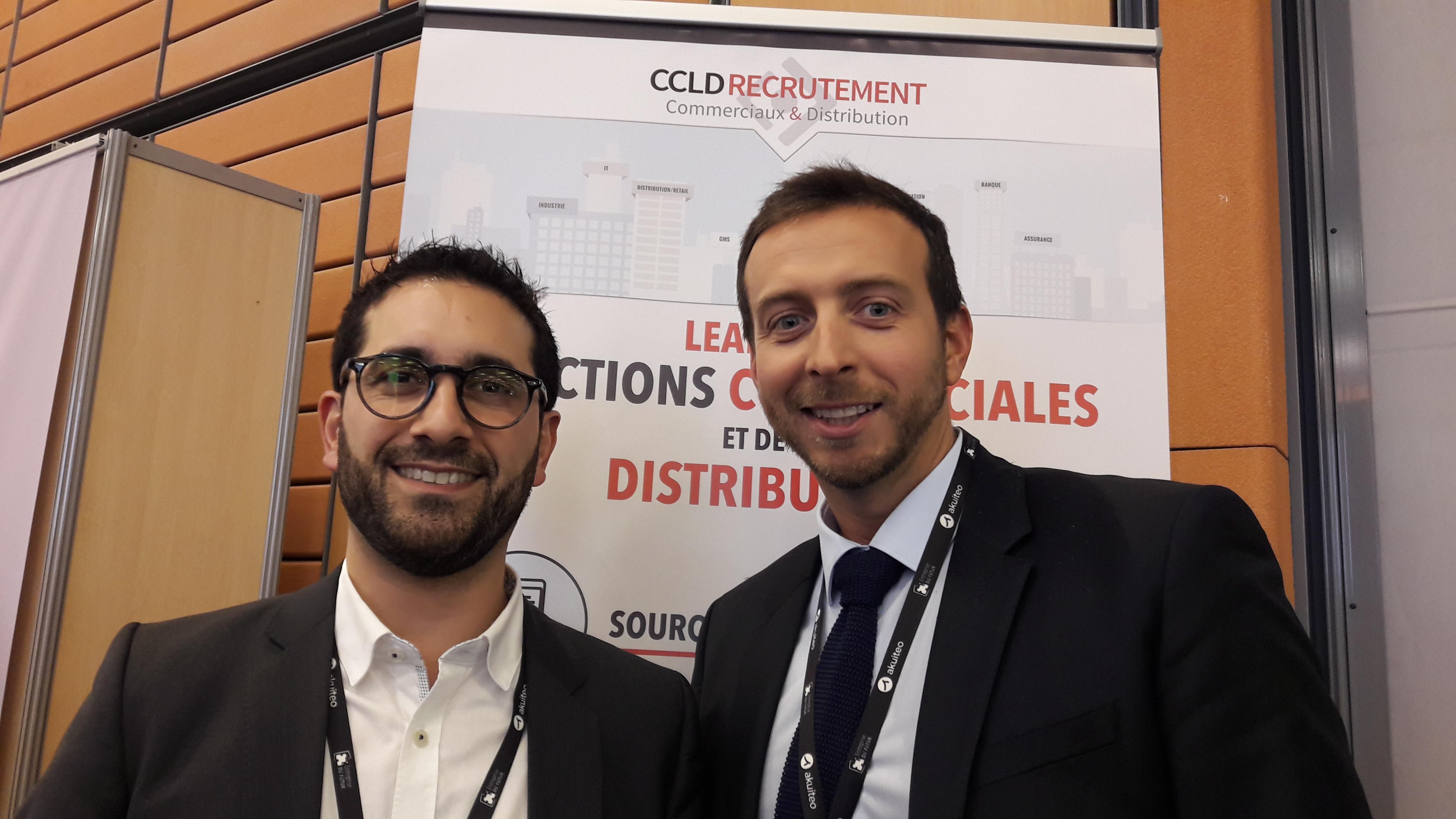Cyril Capel et Lionel Deshors