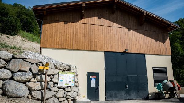 la centrale hydroélectrique du Bonrieu à Bozel - bref eco