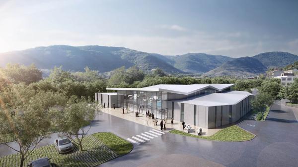 Nouveau centre aquatique de Privas
