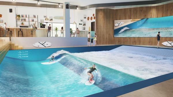 City Surf Park de Lyon - parc ol - bref eco