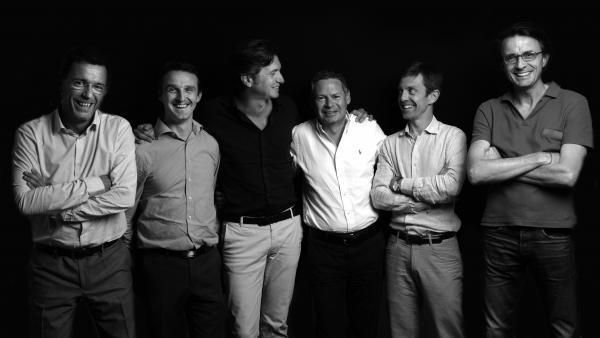 Renaud Sornin et Romain Benoit, ALG, Bertrand Laffay et Frédéric Julien, Infolegale, Laurent Sarratet Rémy Demont, SIS