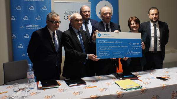 L'agglomération de Villefranche signe un Contrat Ambition Région