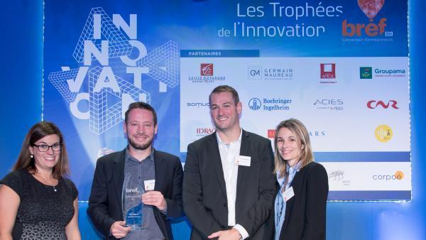 Saga #8 Trophées de l'innovation Bref Eco: Futur Map, lauréat Urbanisme et construction durable
