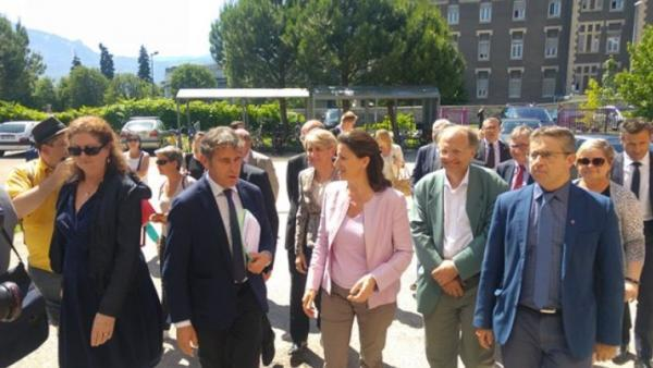 Agnès Buzyn, ministre des Solidarités et de la Santé, s'invite à Biopolis