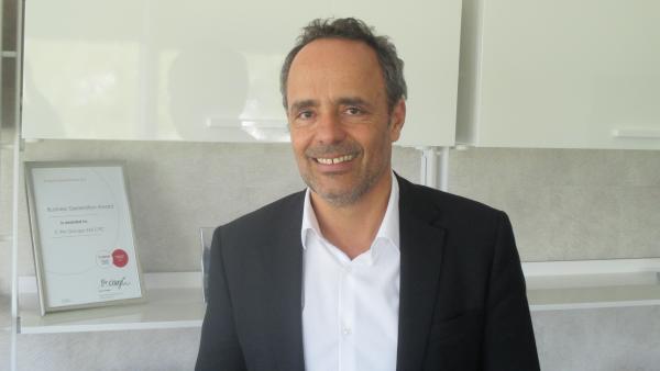 Pieric Brenier, le président fondateur de C'Pro.