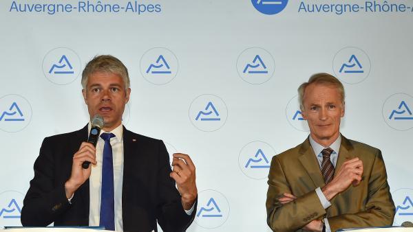 Laurent Wauquiez et Dominique Senard.