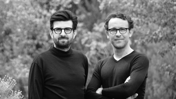 Fabrice Tocco et Laurent Lafaye  cofondateurs de Dawex Systems.