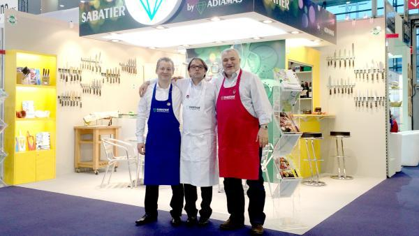 Patrick Janvier, Christophe Adamczyk et Christophe Chervin