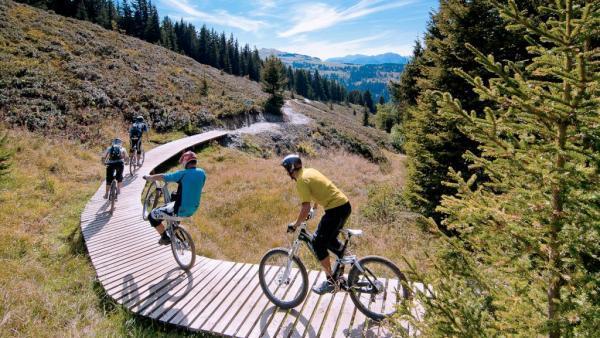 Les stations de montagne comptent désormais avec le vélo
