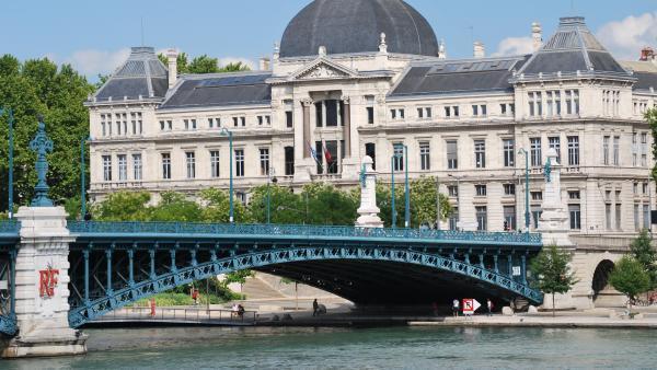 Un bâtiment de l'Université de Lyon