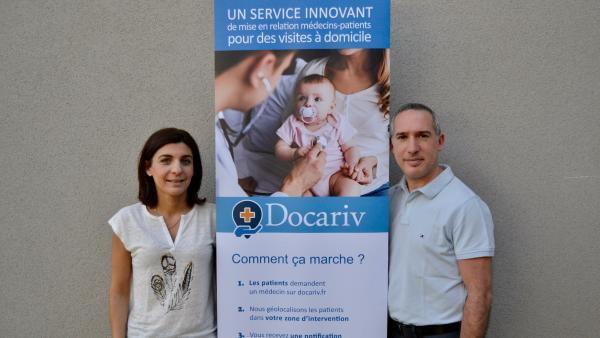 Jessica et Michael Loeb, fondateurs de Docariv.
