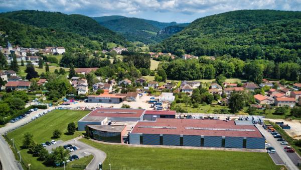 Le site de fabrication de DM2F, à Jujurieux.