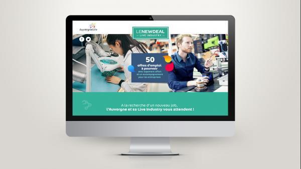En quelques clics, les candidats peuvent avoir accès aux 50 emplois proposés.