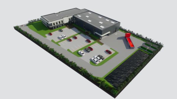 Le futur bâtiment de l'Erec Firalp construit par GSE, brefeco.com