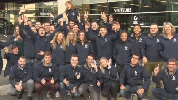 Les étudiants de GEM sur le terrain au CES de Las Vegas
