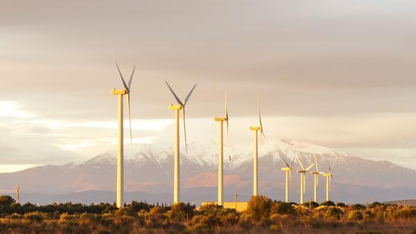 GEG redimensionne un parc éolien à Rivesaltes
