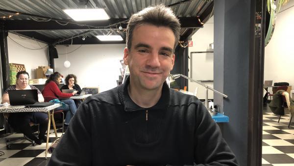 Damien Caillard, vice-président d'Epicentre Factory  - bref eco