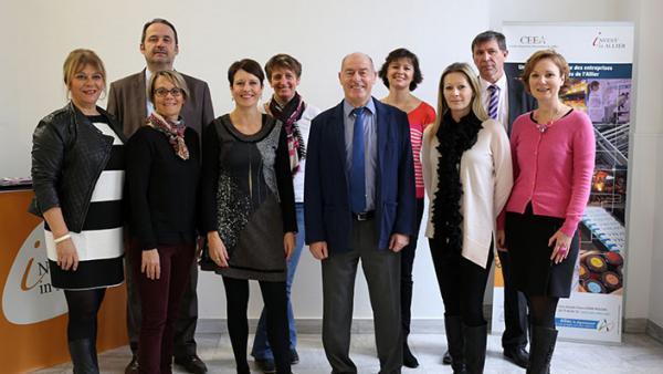 L'équipe du CEEA au service des entreprises et du territoire