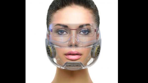 Precimask est le seul masque transparent à filtration céramique du¨rable protégé par trois brevets.