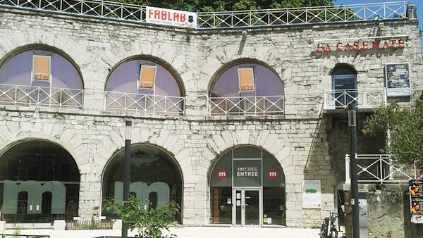 Le fab lab de la Casemate à Grenoble ravagé par un incendie