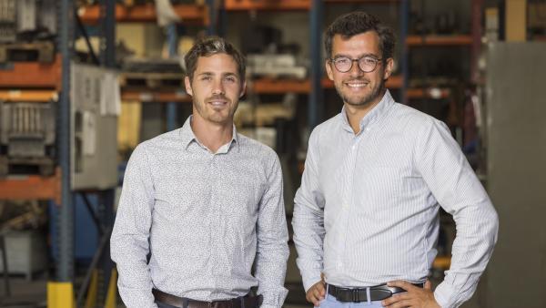 David Lépiney et Baptiste Ploquin, les cofondateurs de Finoptim.