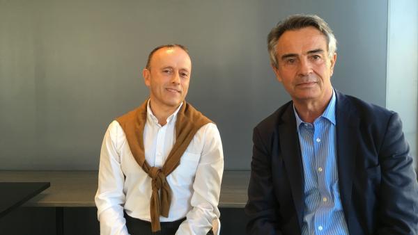 Thierry Riou (Cera) et Henri-Louis Schwall, brefeco.com