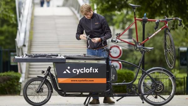 vélo cargo Cyclofix, brefeco.com