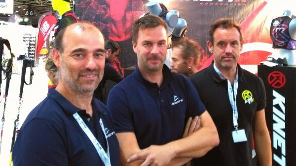 Pascal Guidetti, Olivier Six et Jean-Marie Loirat