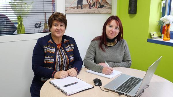 Patricia Gros Micol et Maud Georget, brefeco.com