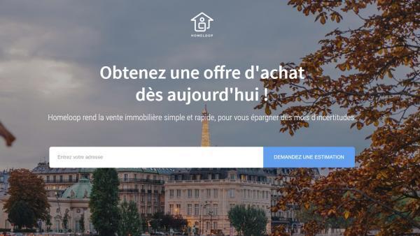 Homeloop s'installe à Lyon et propose l'achat et la vente de bien à distance.