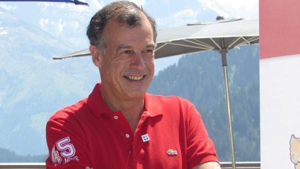Henry Giscard d'Estaing, président du Club Med -  bref eco