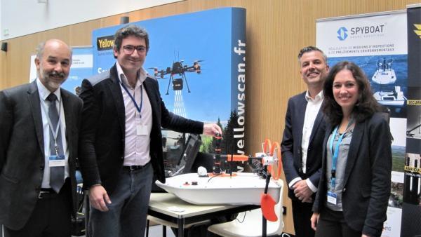 Filière drone EDF- brefeco.com