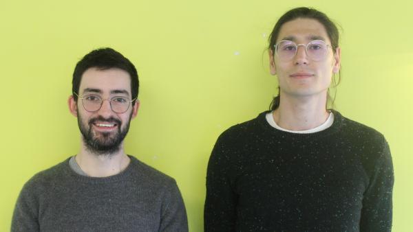Jonathan Magat et Louis Arod, fondateurs de Gryzzly brefeco