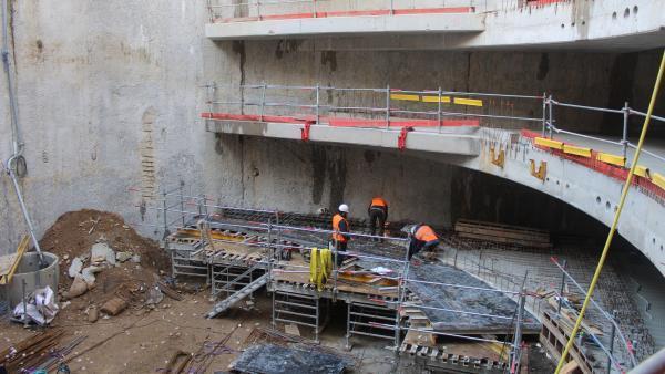 Le parking Saint-Antoine en phase de finalisation, brefeco.com
