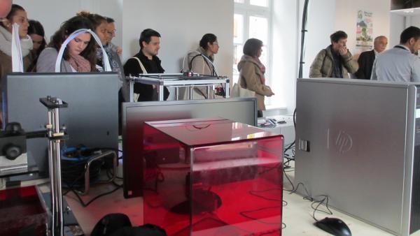 Le premier atelier de fabrication numérique du Cantal, à Murat.