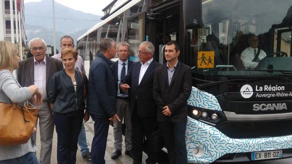 Un premier autocar au GNV pour la vallée de l'Arve