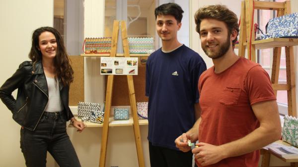 L'équipe de Naona et leurs créations made in Rio