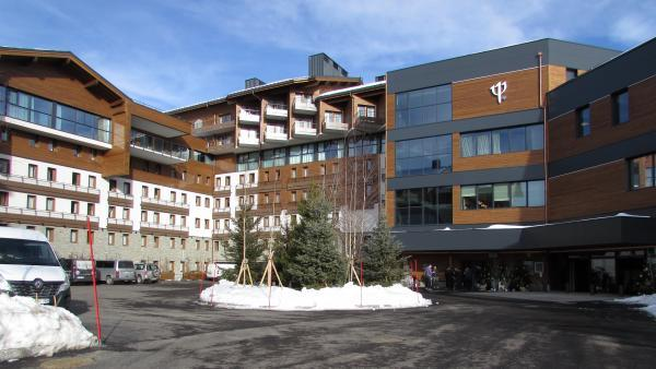 Le Club Med de La Rosière fin prêt pour l'hiver