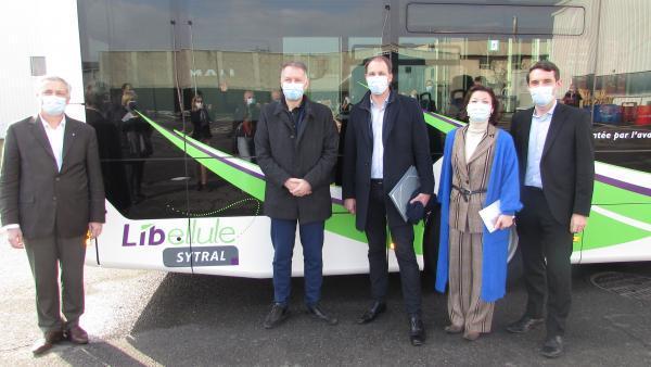 De nouveaux autobus au Bio GNV dans l'agglomération lyonnaise