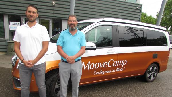 Vip Limousine France adopte la franchise Moovecamp