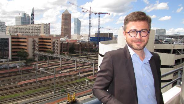 Thomas Allary,  directeur régional de SNCF Réseau.