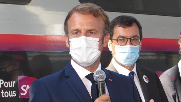 Emmanuel Macron, brefeco.com