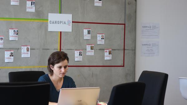 Canopia dispose de 220m2 de locaux à Vaulx-en-Velin.