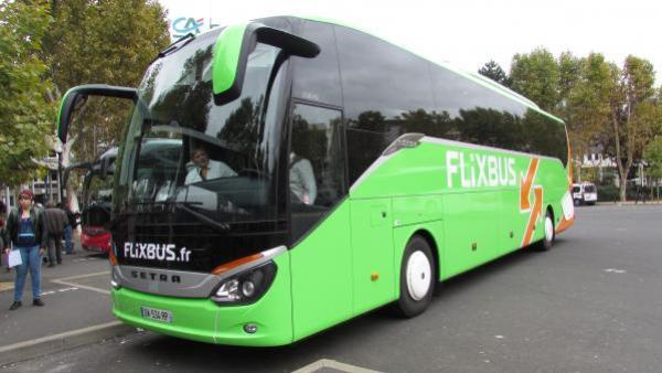 Flixbus en force sur les transports interurbains par autocar