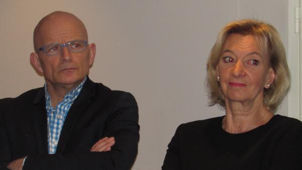 Florent Suplisson et Marie-Odile Fondeur