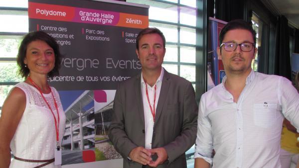 Arnaud Combes, directeur d'Auvergne Events.