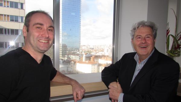 Christophe Barré et Richard Carayon, brefeco.com