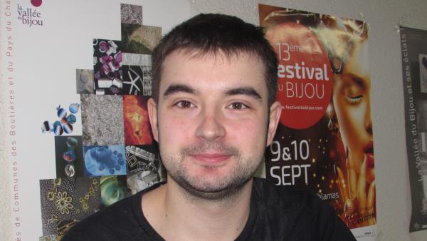 Paul-Jean Giraud, gérant du fabricant de bijoux Oktane Concept