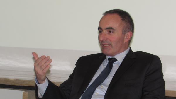 Michel Le Faou, président de l'agence d'urbanisme de Lyon