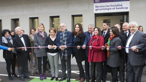 Les locaux de l'action sociale inaugurés à Annemasse